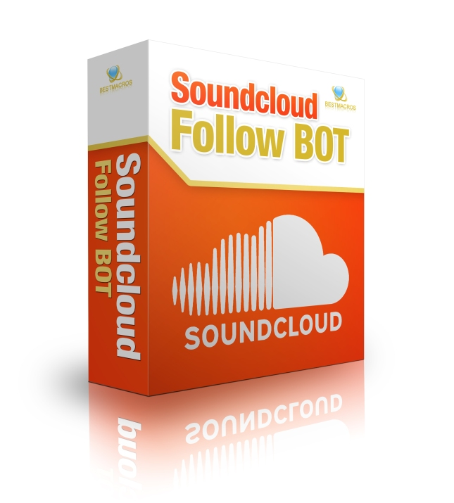 Soundcloud follow bot